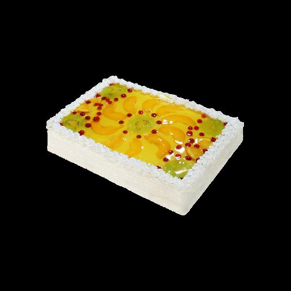 Бисквитный с фруктами