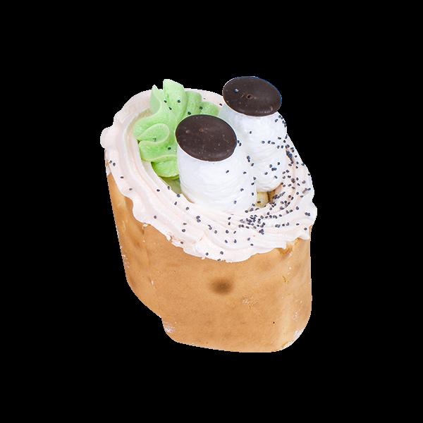 Пирожное бисквитное с белковым кремом