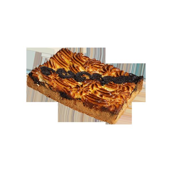 """""""Пиріг пісочний з сирно-маковою начинкою"""""""